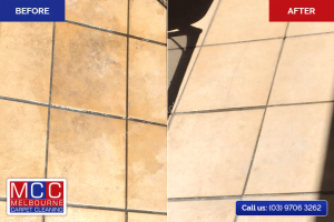 Tile Cleaning - Before / After